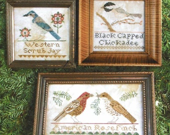 Bird Collection III by Heartstring Samplery Counted Cross Stitch Pattern/Chart