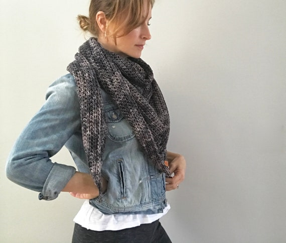 Merino Triangle Wrap Shawl