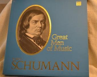 Robert Schumann - Time Life Great Men of Music Boxed Vinyl Set of Classical Music