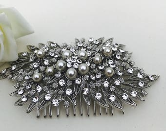Wedding Hair Comb, Crystal Comb, Wedding hair accessories, Vintage Style, hair accessories, bridal hair comb, wedding accessories