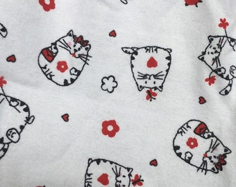 Cat Lover, Cartoon Cat Scarf, Cat Infinity Scarf, Cat Scarf, Kitty Scarf, Cat, Circle Scarf, Unique Scarf, Animal Scarf, Scarf with Cats