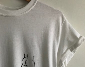 Jude (Embroidered Butt Tshirt)