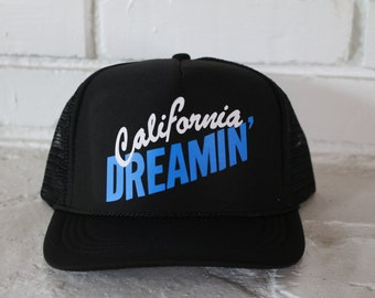 California Dreamin' Toddler Hat- Youth Hat- Toddler Trucker Hat- Youth Trucker Hat- Baby Trucker Hat- Boys Hat- Boys Trucker Hat- Boy Hat