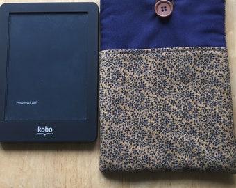 Kobo e-reader cover fabric Kobo case padded e-reader cover fabric teacher gift graduation gift retirement gift