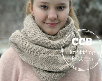Fenton Scarf Knitting PATTERN
