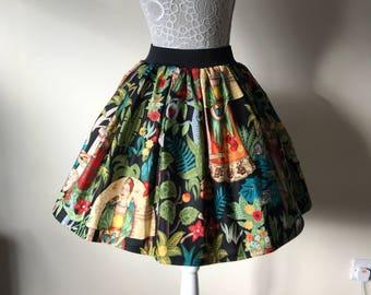 Ladies Frida's Garden full skirt