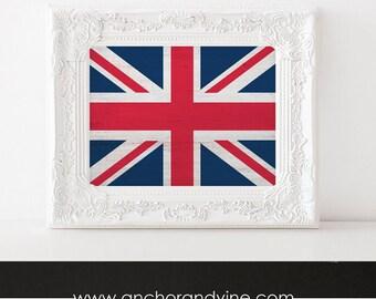 DIGITAL DOWNLOAD // UK British Flag