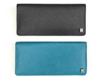 Women's Leather Card Purse Wallet | 4 colours available | Personalise with foil (2D) or 3D monogramming