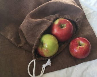 Large Linen Produce Bag