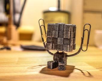 Cute Desk Companion Robot - Note Holder Reminder