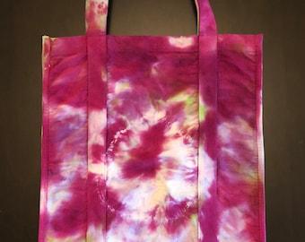 Canvas Market Bag, Gorilla Tote, Tie-Dye