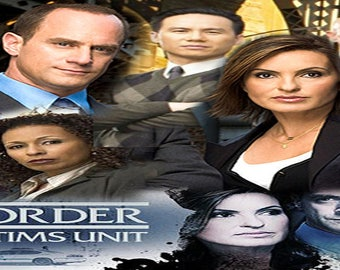 Law and Order SVU Bookmark