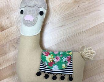 LLAMA Plush, Llama Pillow, Kawaii Llama, Alpaca Toy Ready To Ship