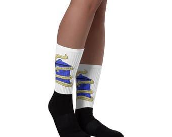 Doctor Who Tardis Socks