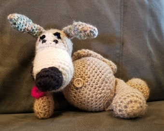 Just a crochet loveable puppy