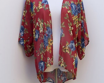 SALE! Roses Are Blue Cardigan