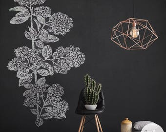 Chalkboard Removable Wallpaper/ Blackboard Self Adhesive Wallpaper/ Chalkboard Wall Decal