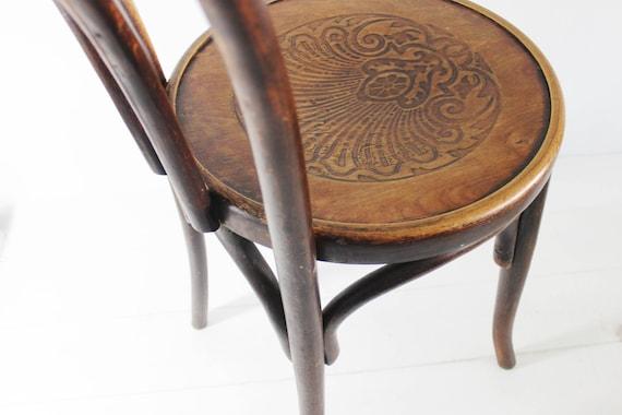 Bistro Chair Vintage, Bentwood Chair, Fischel Chair, Bentwood Furniture,  Parisian Cafe Chairs, Wooden Chair Vintage, E648 - Bistro Chair Vintage Bentwood Chair Fischel Chair Bentwood