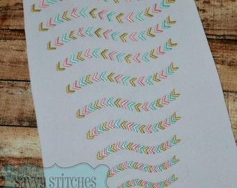 Arrow Path Mini Add on Embroidery Design