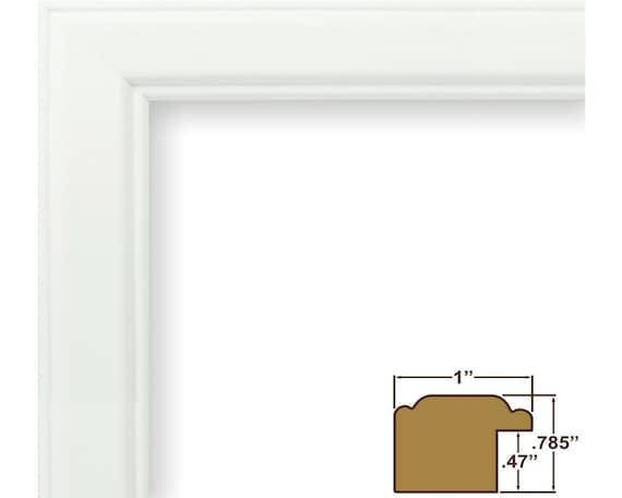 22 By 28 Frame: Craig Frames 22x28 Inch White Picture Frame Wiltshire 434