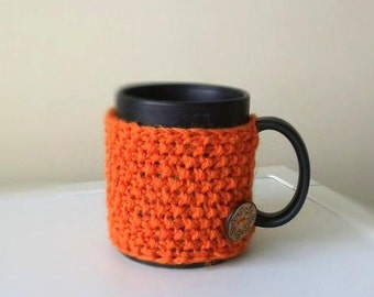 Coffee Mug Cozy, Coffee Mug Sleeve, Coffee Cozy, Knit Cup Cozy, Hygge Decor, mug sweater, Gifts under 10, Office Gifts mom gift for teachers