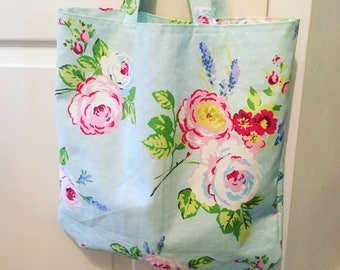 Handmade Floral Tote Bag