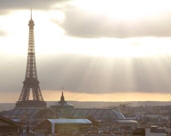 Paris photography, Eiffel Tower, Paris view, Paris in color, Paris decor, home decor, fine art print