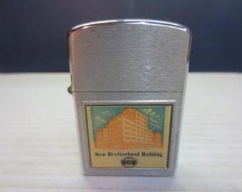 Life-Liter Cigarette Lighter Made in USA Wind Proof NOS