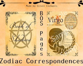 BOS Pages - Zodiac: Virgo