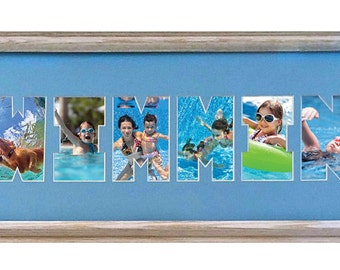 SWIMMING Custom Photo Mat (mat only)