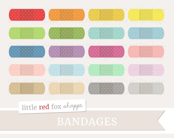 Band Aids Stickers Etsy