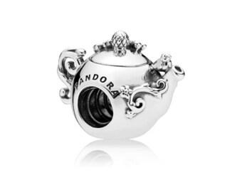Authentic Pandora   Enchanted Tea Pot Charm 797065CZ