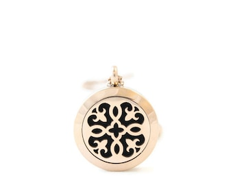 Petite Rosegold Diffuser Locket, Stainless Steel, Diffuser Locket, Free Shipping