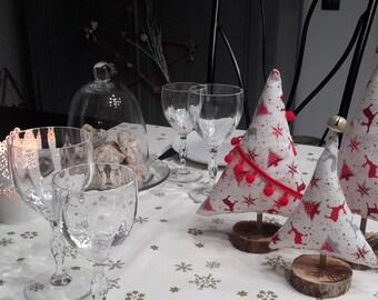 Decorative Christmas tree fabric