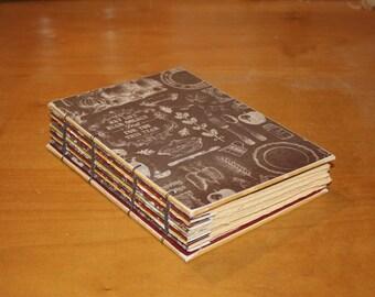 Harvest Journal, Autumn Wedding Guest Book, Gratitude Book, Thanksgiving Hostess Gift, Blank Writing Notebook