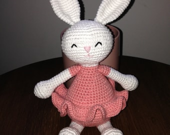 Hæklet kanin/crocheted bunny
