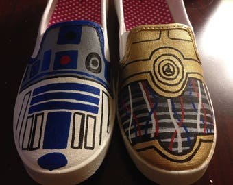 Star Wars Painted Shoes!