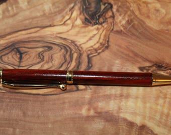 Handmade Cocobolo Wood Pen