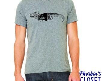 Pig Pen Shirt, Alligator Shirt, Ron McKernan Shirt, Grateful Dead Shirt, Grateful Dead Inspired Shirt, Dead Lot Shirt, Jerry Garcia Shirt