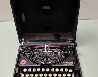 Remington Portable #1 Manual Typewriter c1925