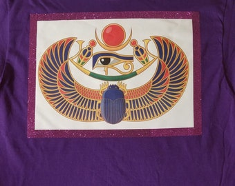 Scarab Beetle and eye of Horus