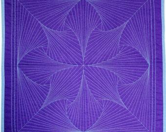 Zen - Mini Wholecloth Quilt