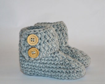 crocheted Baby Slippers (0-6 months)/Crocheted baby Shoes (0-6 month)