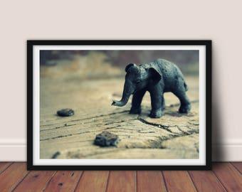 Elephants never forget, Digital Download, Digital Print, Digital Art, Photography, Art Print