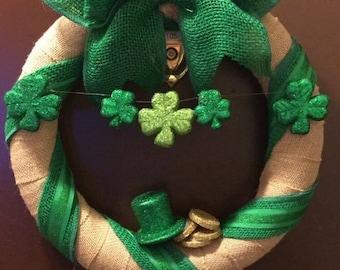 Luck 'o the Irish Wreath
