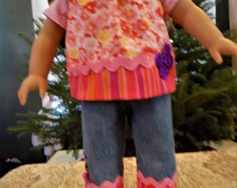 18 inch Doll Clothes - 3 piece Outfit