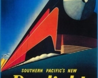 San Francisco, California - The Daylight Train Promotional Poster (Art Prints available in multiple sizes)