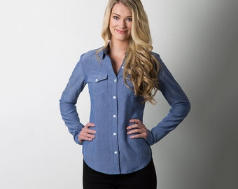 Sewaholic PATTERN - Granville Shirt - Sizes 0-20