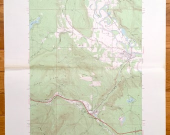 Antique Fall City, Washington 1953 US Geological Survey Topographic Map – King Co, Upper Preston, Preston, High Point, Pleasant Hill