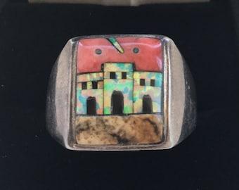 Native American Sterling Men's Ring